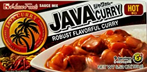 House Foods Java Curry Sauce Mix Spicy 185g