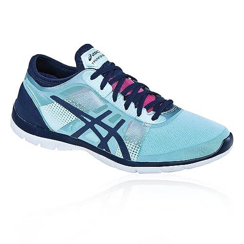 Asics Gel Fit Nova Ice Zapatillas de Running para Mujer, Color Ice BNavyH.Pink, Talla