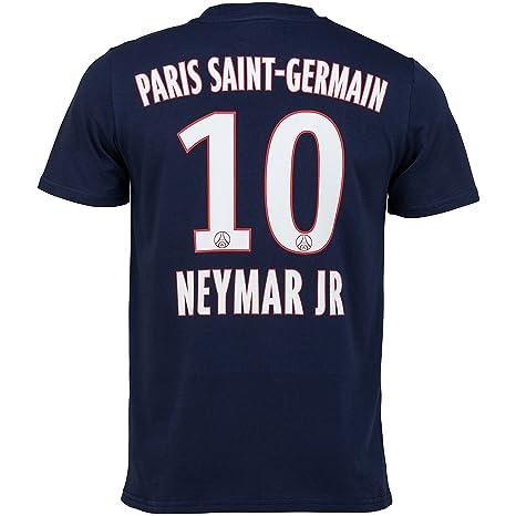 60e34f6686a6 Paris Saint-Germain Official Collection PSG T-Shirt - Men s.  Amazon ...