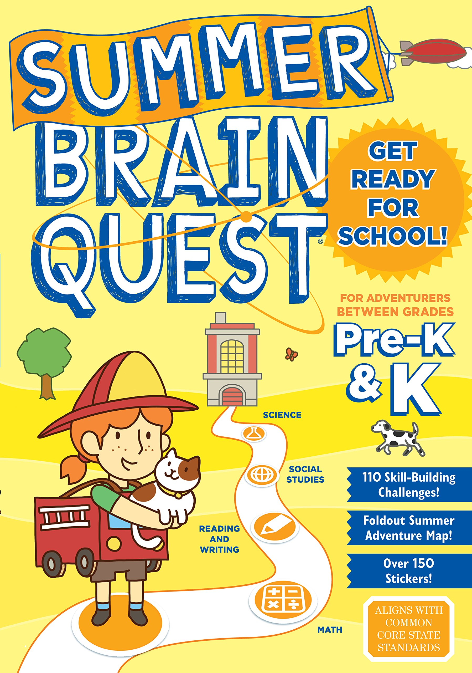 Read Online Summer Brain Quest: Between Grades Pre-K & K pdf
