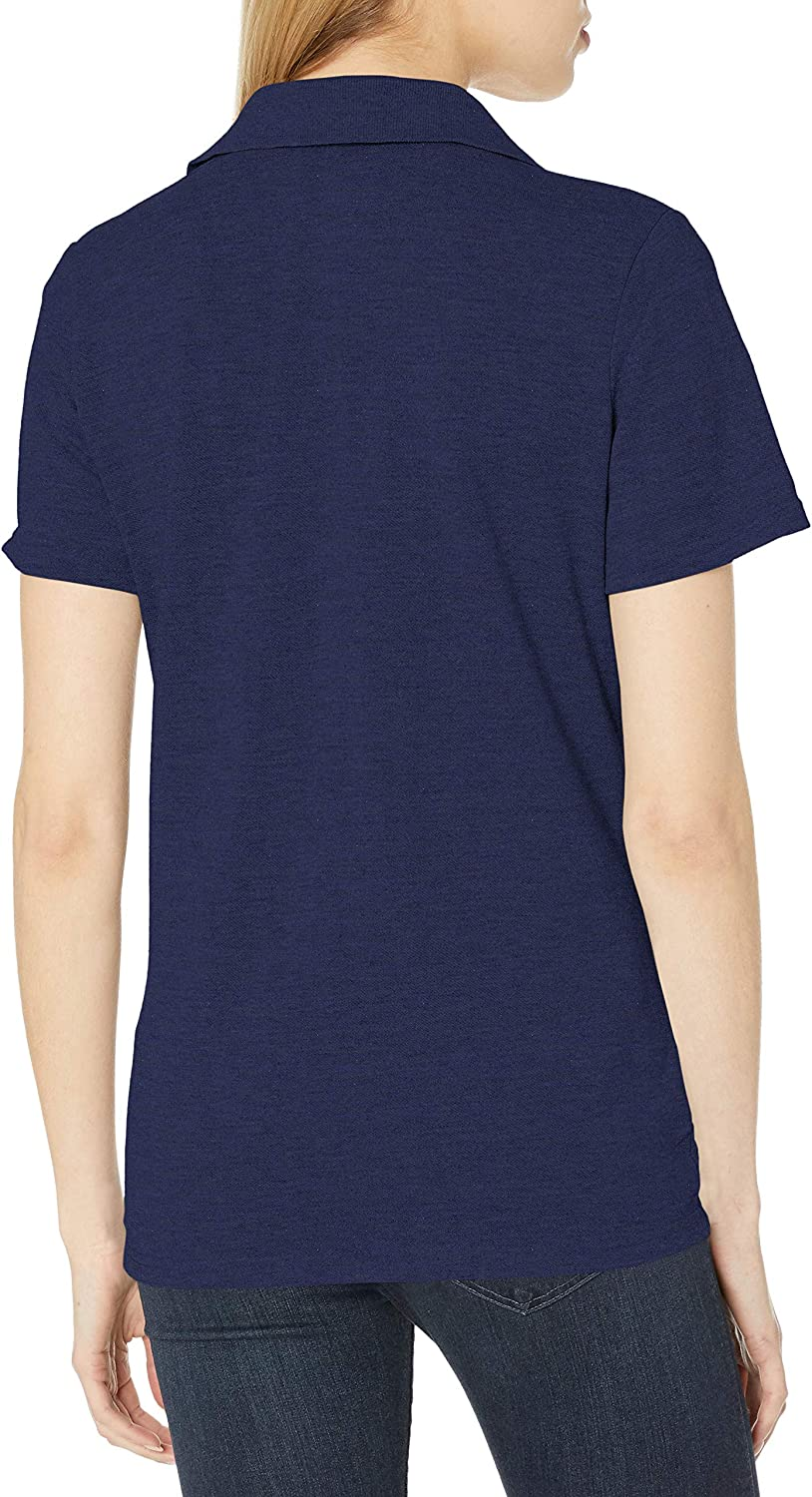Hanes Women's X-Temp Polo with FreshIQ at  Women's Clothing store