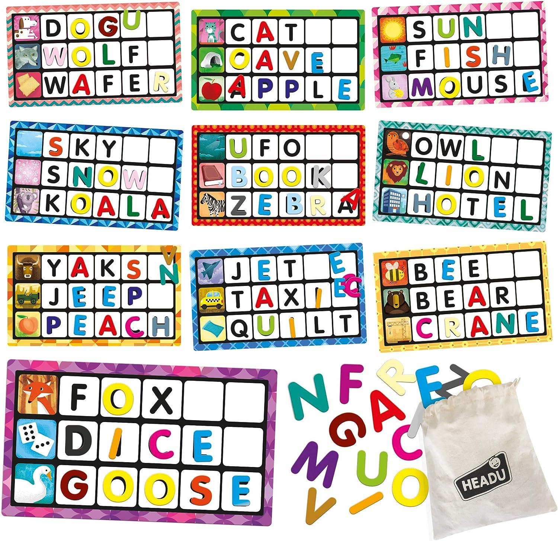 Headu Bingo de Letras y Palabras EN20980