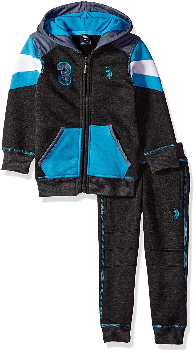 Boys Toddler 2 Piece Jog Set U.S Polo Assn