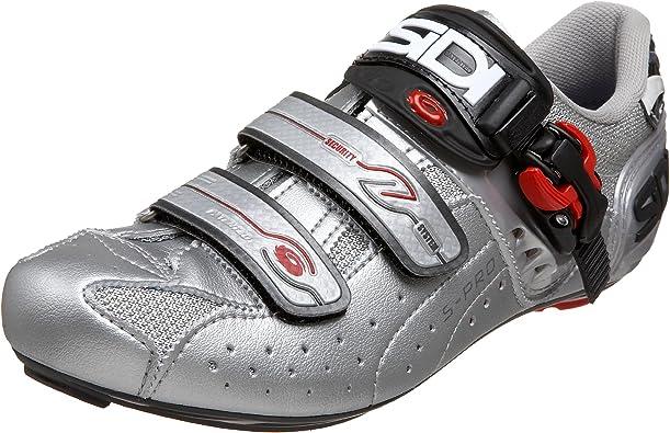 Sidi Genius 5 Pro, Zapatillas de Ciclismo para Hombre, Steel/Silver, 42 EU: Amazon.es: Zapatos y complementos
