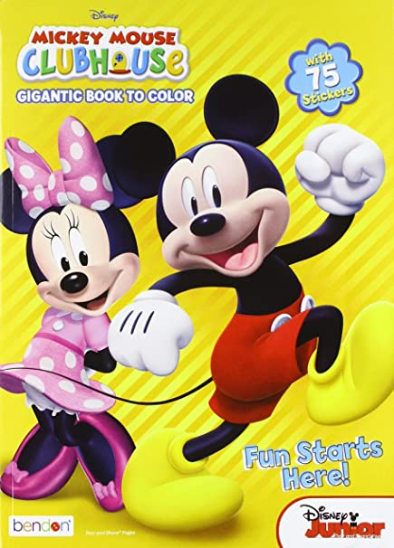 Bendon Mickey Mouse Clubhouse Coloring And Activity Book 224 Pages 10345