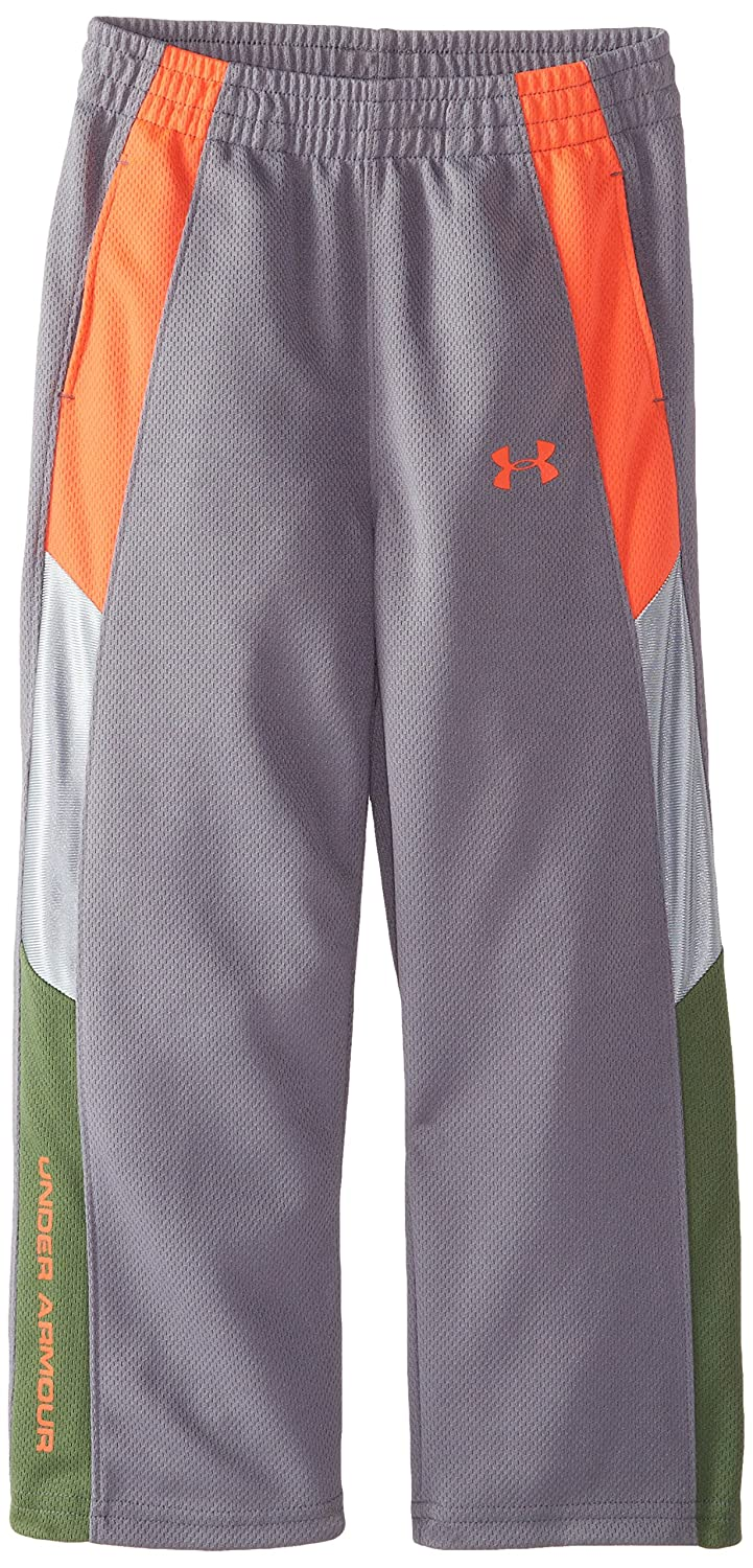 Under Armour PANTS ボーイズ 6 黒鉛 B00T01C23I
