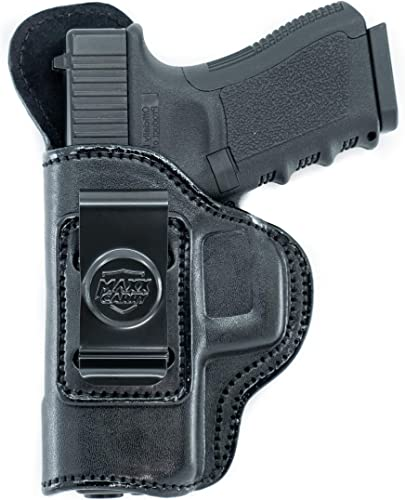 Maxx Carry IWB Leather Gun Holster