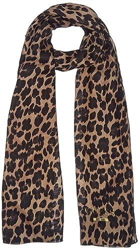 GUESS, GEORGIE SCARF – AW6376VIS03 – Sciarpa da donna, colore leo leo, taglia Taglia unica