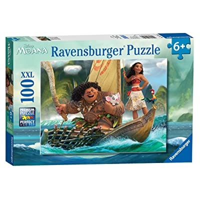Ravensburger Disney Moana One Ocean One Heart 100 Piece Jigsaw Puzzle for Kids – Every Piece is Unique, Pieces Fit Together Perfectly: Toys & Games