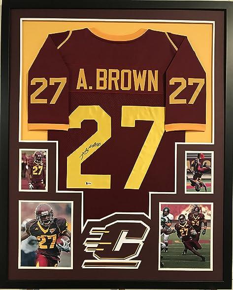 antonio brown central michigan jersey
