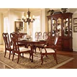 Beau American Drew Cherry Grove 7 Piece Formal Dining Room Set In Cherry