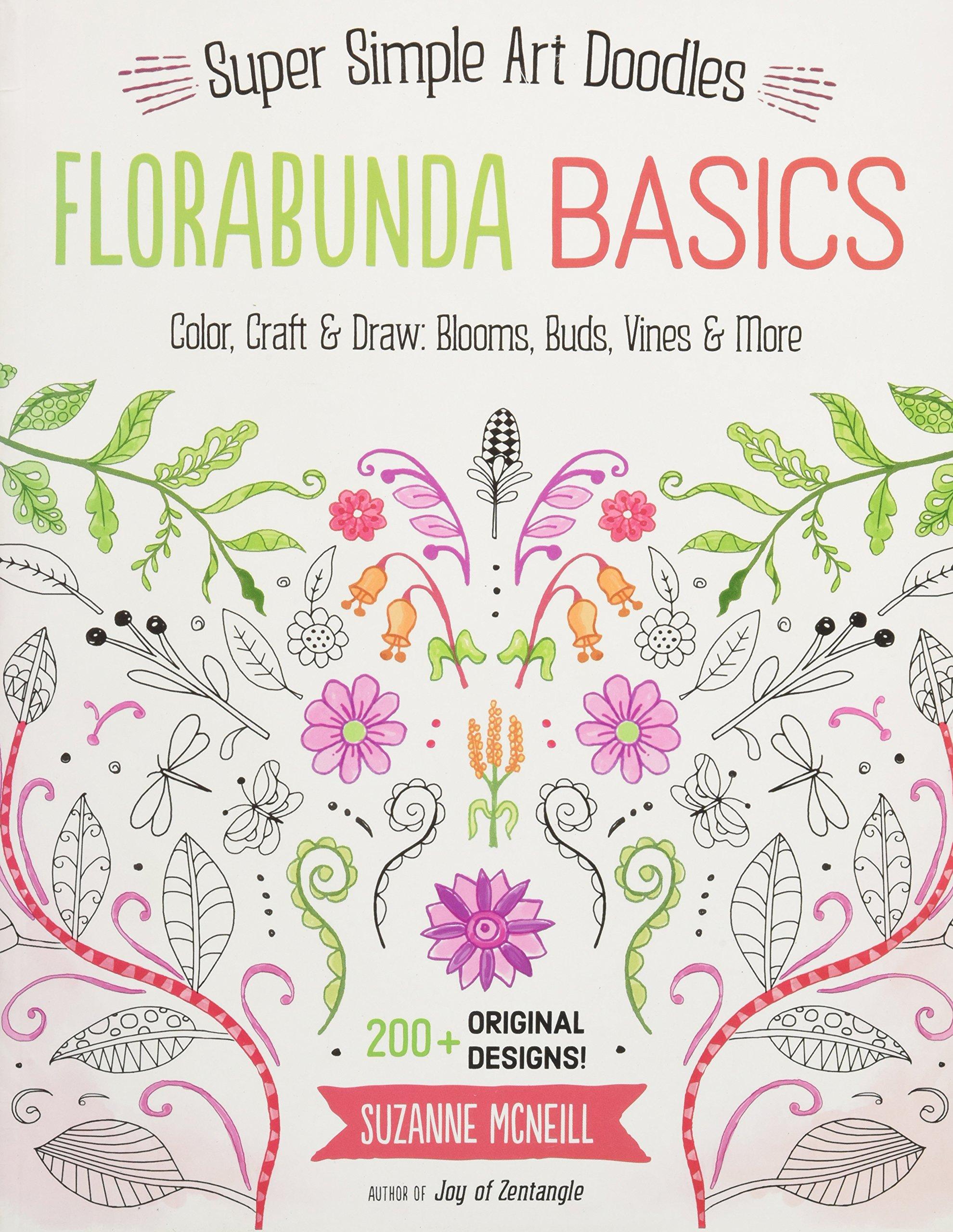 Amazon.com Florabunda Basics Super Simple Line Art Color