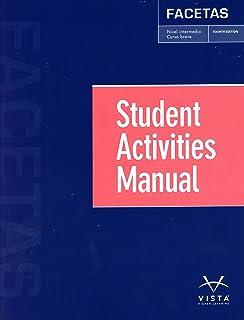 Facetas 4e student edition jose a blanco vhl 9781626809628 facetas 4th ed student activities manual fandeluxe Choice Image