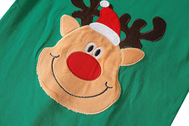 Girls Christmas Pajamas Children PJs Gift Set Kids Cotton Sleepwear