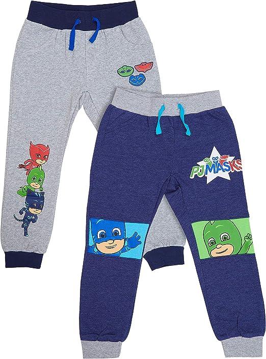 PJ Masks - Juego de 2 Pantalones de chándal para niños con diseño ...