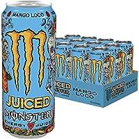 Monster Energy Mango Loco mit Kohlensäure (12 x 500 ml)