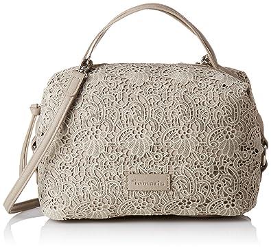 27ee61cba80 Tamaris Women's MATILDA Handbag Top-Handle Bag Beige Size: Amazon.co ...