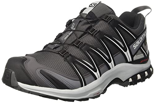 Salomon Men XA Pro 3D GTX Trail Running Shoes, Grey (Magnet Black/Pearl