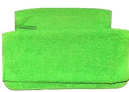 Pack toallas de guardería 1 de 29x50 y 1 de 70x40 Con colgador y Etiqueta Para
