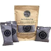 Terra Lifestyle Co -Bamboo Charcoal Air Purifying Bag - Gym Bag Set | Shoe Deodorizer, Shoe Odor Eliminator, Shoe Bag…