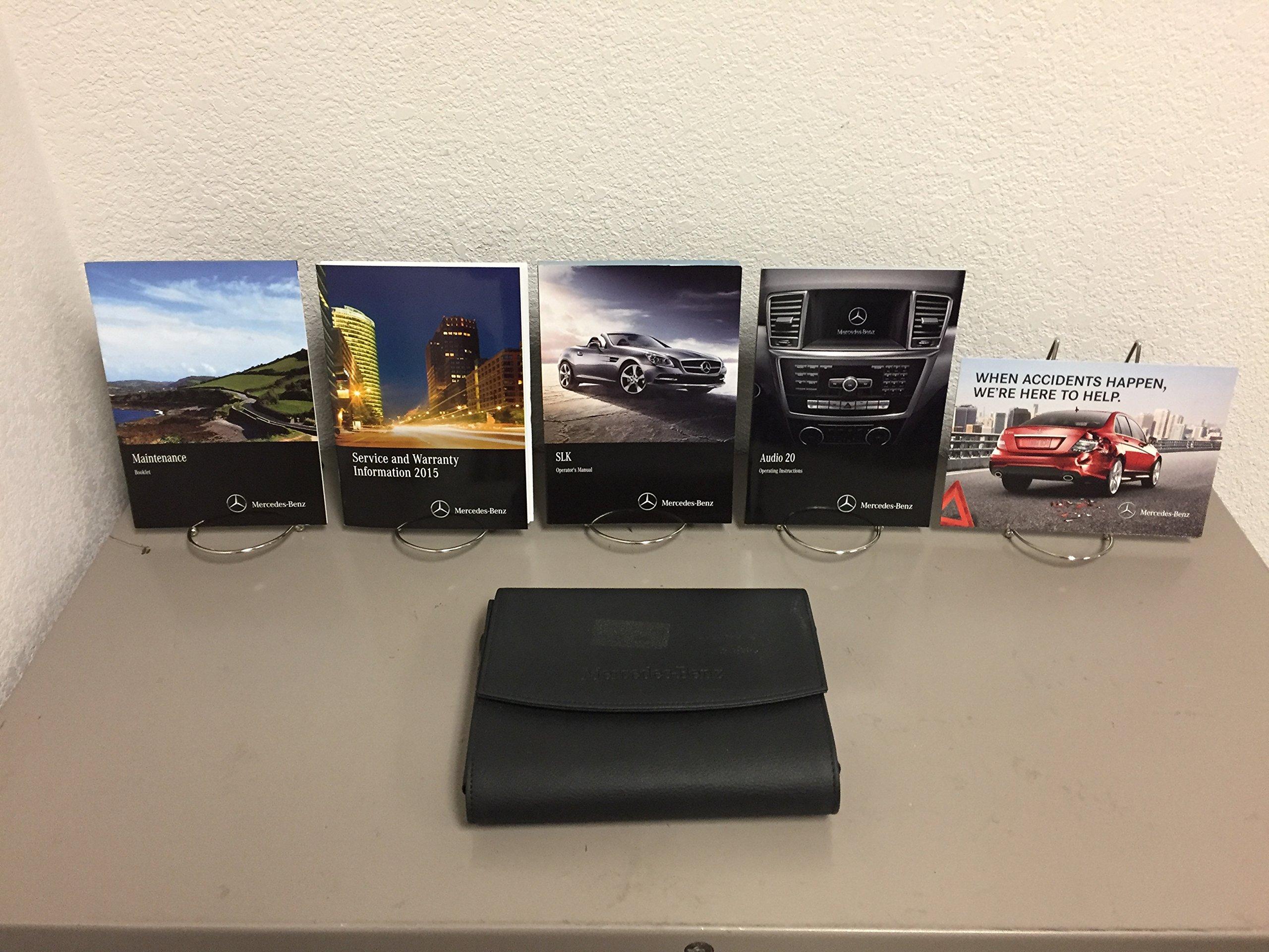 2015 Genuine OEM Mercedez-Benz SLK Owner's Manual Set for all SLK250 SLK350  and SLK55 AMG Models: MERCEDES-BENZ: 0682821521713: Amazon.com: Books
