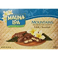 Mauna Loa Mountains Milk Chocolate Covered Macadamia Nuts, 15-Count, 5-Ounce package