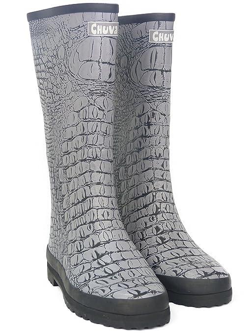 b74461038c Unbekannt Stivali di Gomma da Donna, Scarponi da Giardino, Scarpe, Stivali  Antipioggia