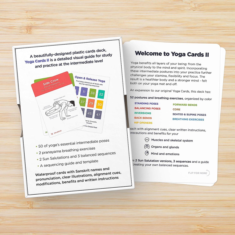 Amazon.com: PREMIUM – Tarjetas II: Intermedio de yoga Asana ...