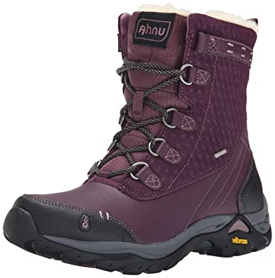 2V8Z Ahnu Womens Twain Harte Waterproof Insulated Boots Essential Outlet Sale