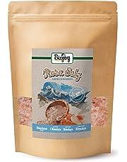 Biojoy Sel de l'Himalaya cristaux | Himalaya Sel Cristallin rose de Salt range région | connu comme sel de l´Himalaya | sel gemme gourmet, naturel | s sel cristallin 2-5mm pour moulin à sel (1 kg) (1 kg)