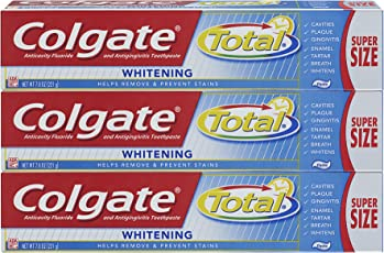 Colgate Total Whitening Toothpaste - 7.8 ounce (3 Count)