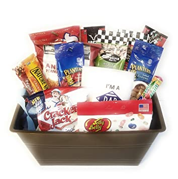Dad Gift Basket Bundle Includes Superpower Coffee Mug And Snack Assortment Great For