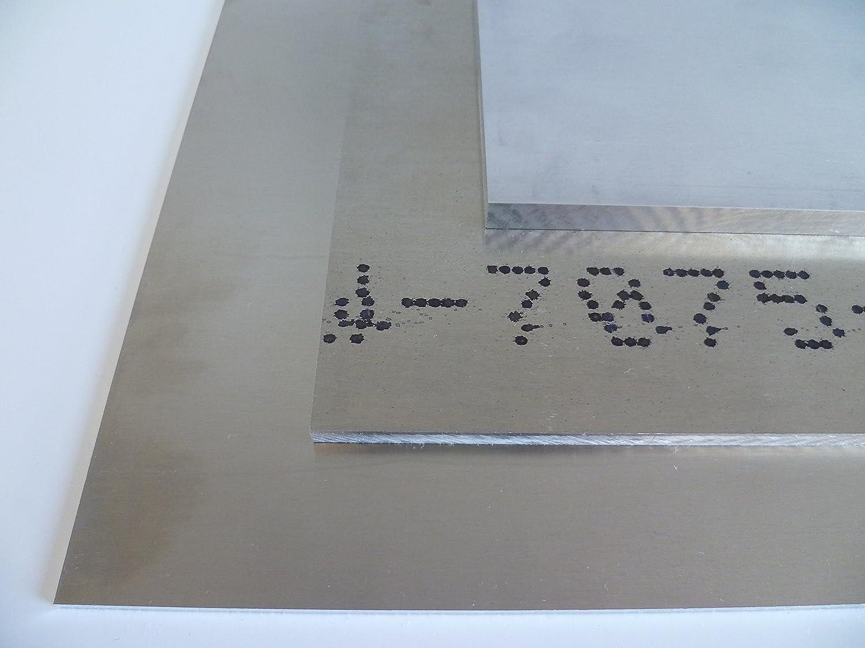 7075 B /& T m/étal aluminium plaque 10/mm Plaque Alu haut Lave-vaisselle F 50/Stark embouti Blank naturel D/écoupage sur mesure