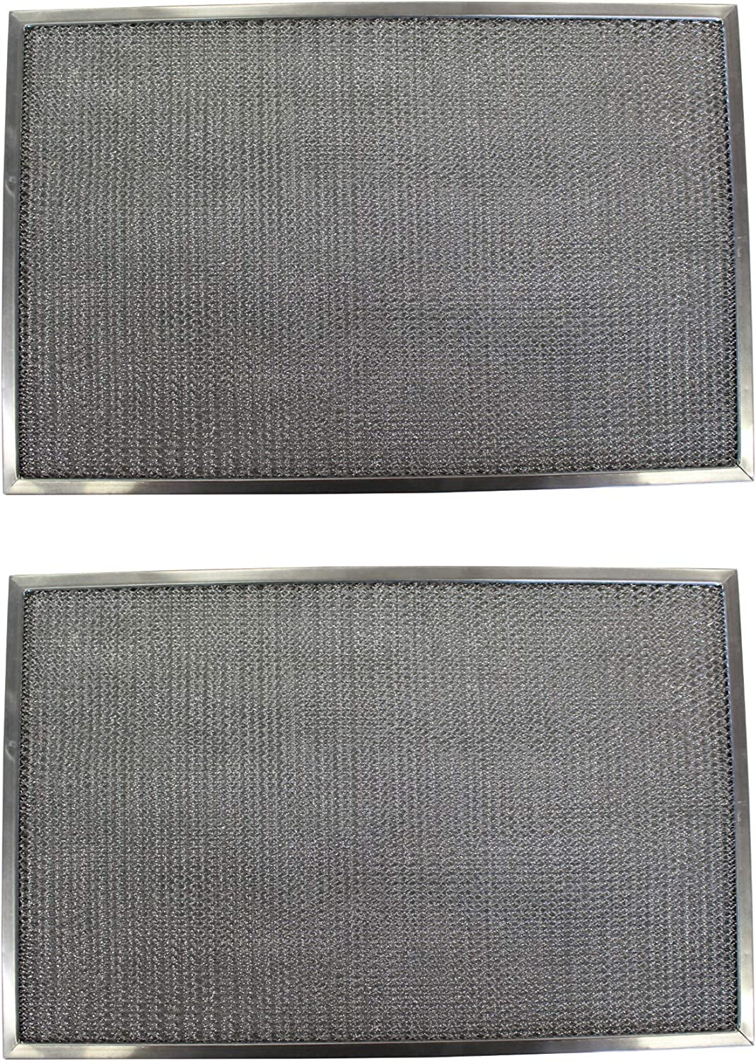 Replacement Aluminum Filters Compatible with Broan 990717415, Broan BPDFA30, Broan V14131,G-8191, -13-13/16 X 14-3/32 X 1/2 (2-Pack)