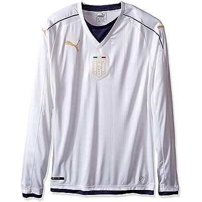 PUMA Men's FIGC Italia Tribute Away LS Shirt Replica