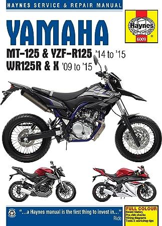 haynes yamaha wr125r wr125x manual repair manual workshop manual 2009-2015:  amazon.co.uk: car & motorbike  amazon uk