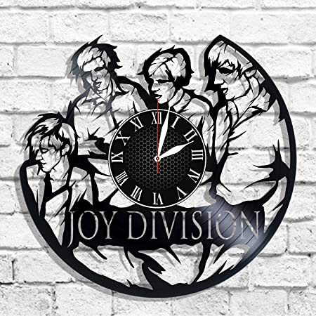Olha Art Design Joy Division rock band design wall clock, Joy Division decal, Joy Division music wall poster