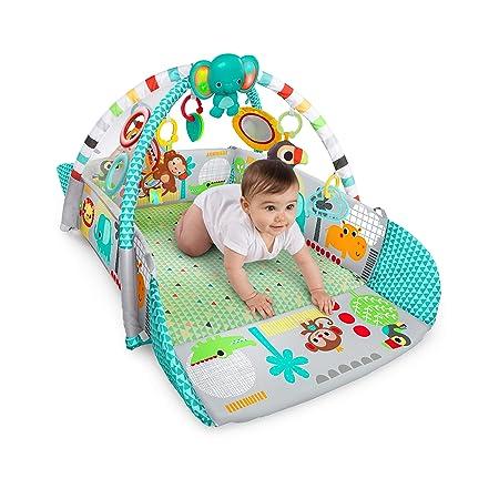 Amazon.com: Bright Starts - Pelota de ejercicio 5 en 1: Baby