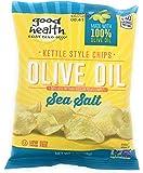 Good Health Kettle Potato Chips, 1 ounce Bags (Set of 8) (Olive Oil, Sea Salt)