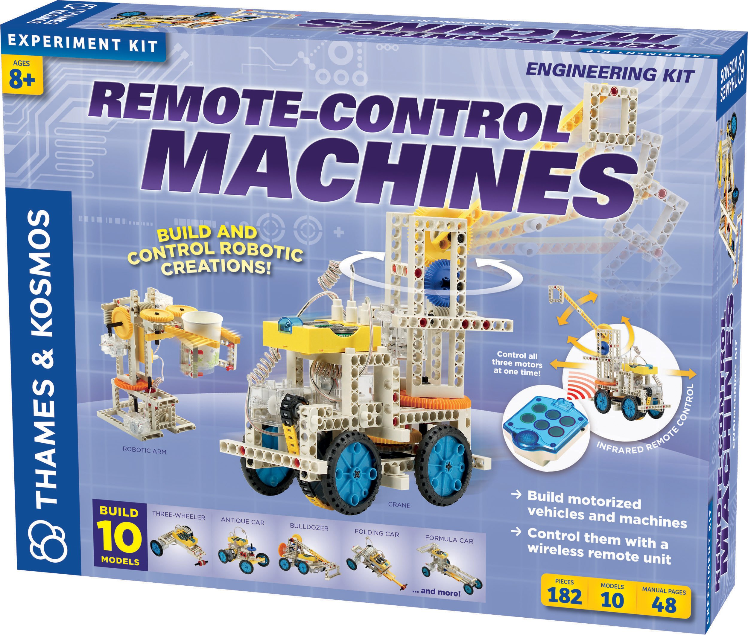 Thames Kosmos Remote Control Machines