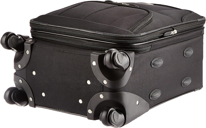 Rockland Valise Extensible 48,3 cm Noir - F2281-BLACK Noir