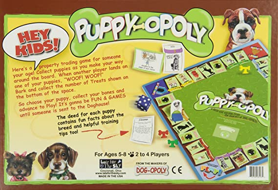 Amazon Puppy Opoly Toys Games