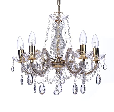 Marco tielle marie therese style chandelier with crystal glass marco tielle marie therese style chandelier with crystal glass column body acrylic arms beads aloadofball Images
