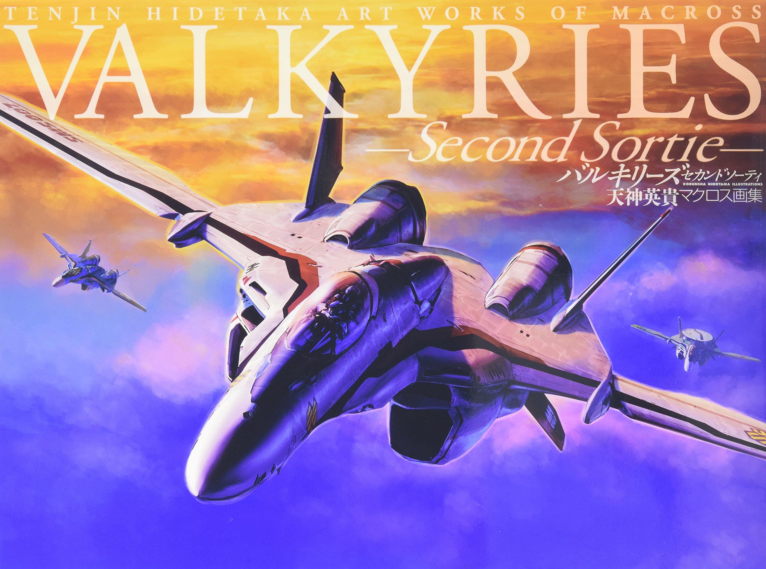 Read Online VALKYRIES - Second Sortie - Tenjin Hidetaka's Art Works of Macross (Japan Import) pdf epub