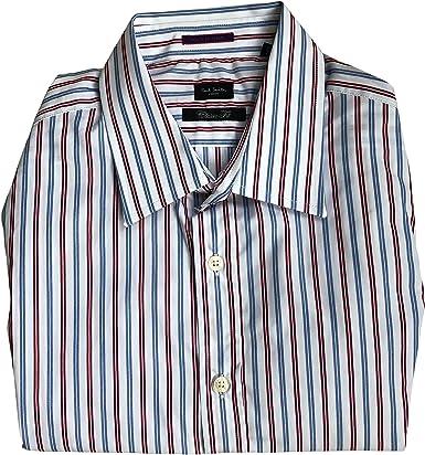 Paul Smith Londres Individual Vuelta Formal Manga Larga Corte Clásico Camisa: Amazon.es: Ropa y accesorios