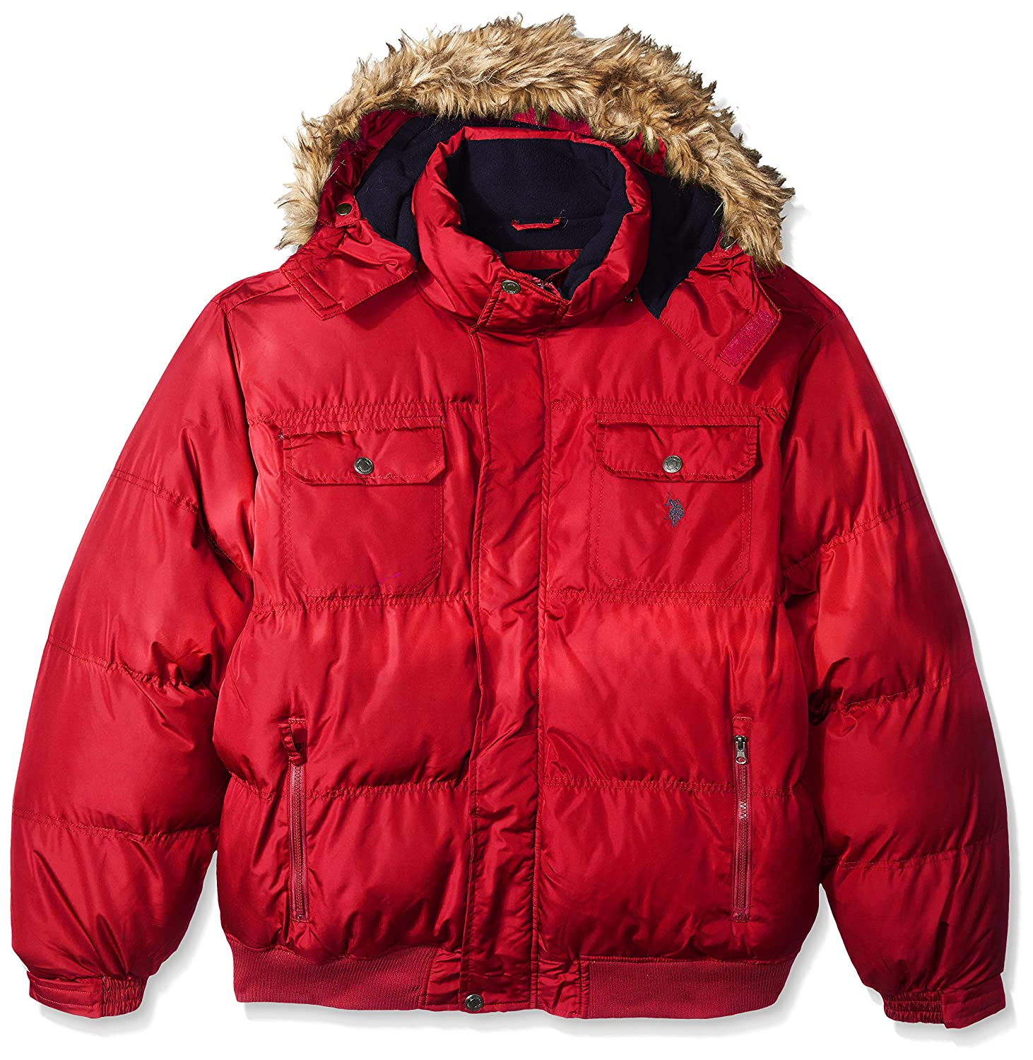 U.S. Polo Assn. OUTERWEAR メンズ B01LCMEBY0 4X Big|Chili Pepper Gjbk Chili Pepper Gjbk 4X Big