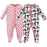 Luvable Friends Unisex Baby Sleep and Play, Flowers