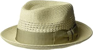 c8ef38ab21c3b Bailey of Hollywood Wilshire Braided Fedora Copper S at Amazon Men's ...