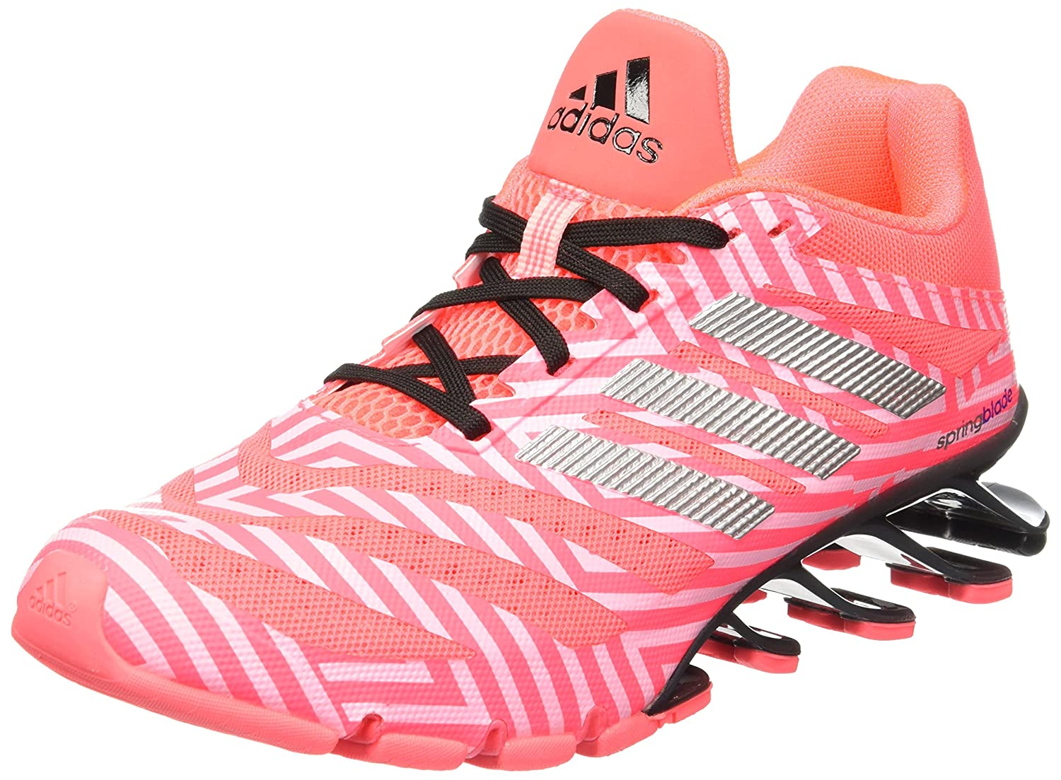 6ba88d630ab7 adidas Springblade Ignite Women s Running Shoes Pink  Amazon.co.uk  Shoes    Bags