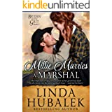 Millie Marries a Marshal: A Historical Western Romance (Brides With Grit Series Book 2)